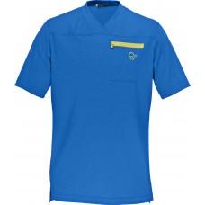 fjørå equaliser lightweight T-Shirt (M)  Electric Blue